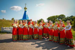 Народный хор им. Е.Успенского рук. Л.А.Стразд